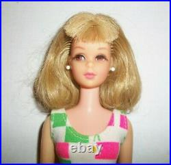 VINTAGE Barbie FRANCIE DOLL STRAIGHT WAIST BEND LEGS JAPAN 1960S DRESSED IN OSS