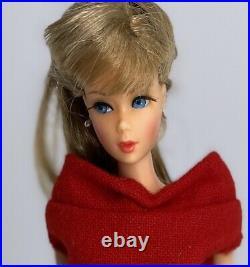 VINTAGE MOD Ash blonde TWIST & TURN TNT BARBIE DOLL #1160 1966 Mattel