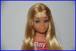 VINTAGE RE-ISSUE BLONDE STRAIGHT LEG SKIPPER DOLL With SS AND JAPAN FLATS