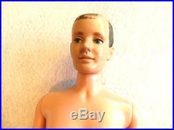 VINTAGE Rare KEN Doll Signed PAT PEND MCMLX Mattell JAPAN Nice 1960
