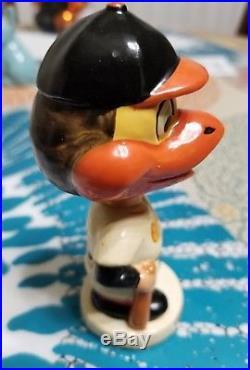 (VTG) 1960s Baltimore Orioles Mini Nodder bobblehead doll japan orioles mascot