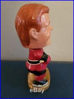 (VTG) 1960s Chicago Blackhawks guy hockey nodder bobbing head doll Japan rare