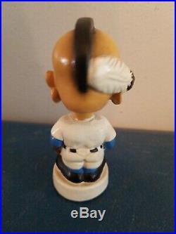 VTG 1960s Milwaukee braves mascot baseball mini bobble head nodder doll Japan