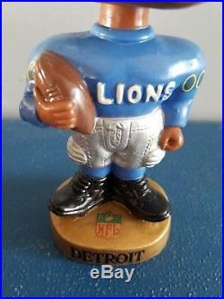 VTG 1960s detroit lions football black face nodder bobbing head doll Japan rare