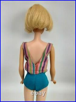 VTG Barbie Platinum Blonde TNT American Girl CLEAN GORGEOUS GIRL