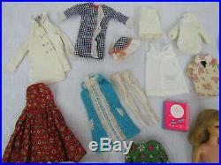 VTG Francie Doll TNT Blonde Clothes Squishy Shoes Accessories Pazam Japan Lot