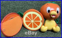 Very Rare! Tokyo Disney Resort Japan Orange Bird Photo Frame Doll Vintage Rare