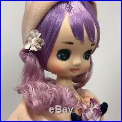 Vintage1964 Holiday Fair Bradley Big Eyed Cherie Doll Japan Original Tag 16 Inch