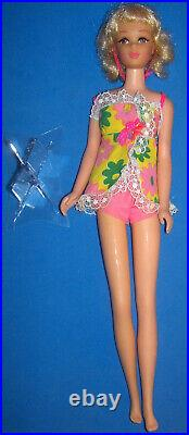 Vintage #1170 Twist & Turn TNT Blonde Flip Francie Doll BL HEADBAND! 1970 Barbie