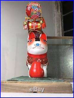 Vintage 1920s Inu Hariko Doll