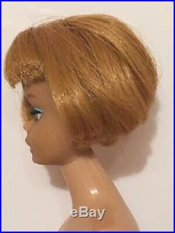 Vintage 1958 American Girl Titian Barbie Bendable Legs 359NN Japan