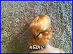 Vintage 1959 #1 Pale Blonde Stunning Ponytail Barbie Tm 850 Japan Mib Vhtf Rare