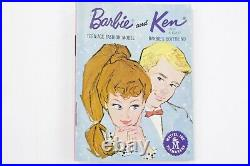 Vintage 1960 Barbie Ponytail #3 Brunette Brown Eye Shadow (Faded) Untouched