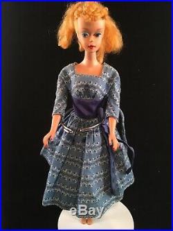 Vintage 1960's Barbie #4 with Blonde Ponytail #4 Wearing 978 Let's Dance Japan