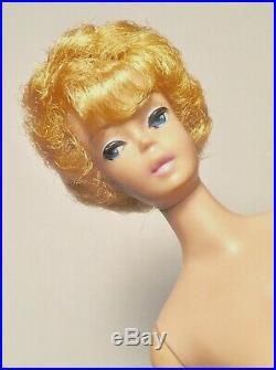 Vintage 1960s White Ginger Barbie Bubble Cut Straight Leg JapanNear Mint