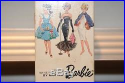 Vintage 1962 BLOND PONYTAIL BARBIE TM Box And Pedestal Only #850 Japan Mattel