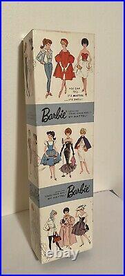 Vintage 1962 Barbie Dressed Store Display Registered Nurse Box Mattel Japan