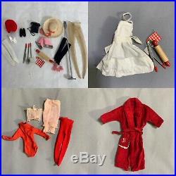 Vintage 1963 Ponytail Barbie Japan Lot Dresses Accessories Mattel Titian #5