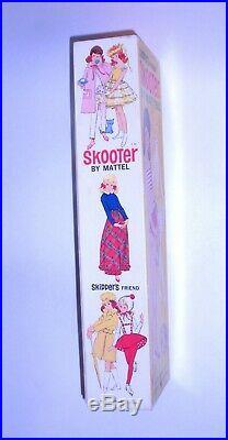 Vintage 1965 Redhead Skooter Skipper Friend MIB Mattel Japan