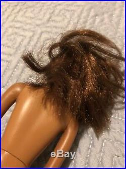 Vintage 1966 African American Francie Barbie Doll Japan