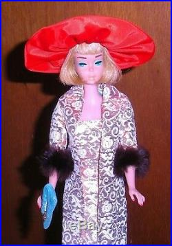 Vintage 1966 Ash Blonde American Girl Barbie Doll 1070 Japan Mint