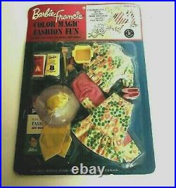 Vintage 1966 Barbie Francie Color Magic Fashion Fun 4041 New In Package