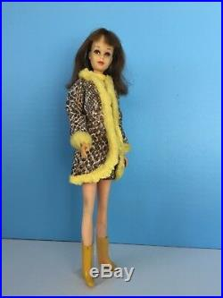 Vintage 1966 Mattel Barbie Francie doll Japan with Snake Charmers' Outfit