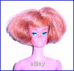 Vintage 1966 Titian Redhead American Girl Barbie 1070 Japan Mint