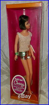 Vintage 1967 Brunette Francie Casey Doll Nrfb Nos Factory Sealed