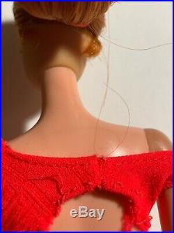 Vintage 1968 Barbie/STACEY Titan TWIST & TURN Doll #1165 in Original Swimsuit