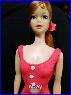 Vintage 1968 Barbie/STACEY Titan TWIST & TURN Doll in Original Swimsuit
