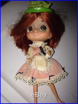 Vintage 1968 Kamar Japan Big Eyed Doll