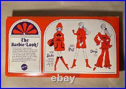 Vintage 1969/1970 Barbie Now Knit #1452 Outfit Dress Nrfb Box Package Mod Era