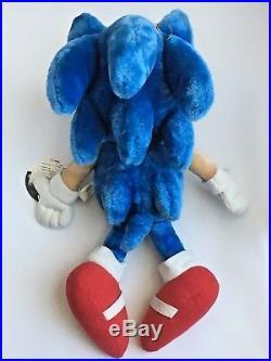 Vintage 1998 Sega Sonic Sonic the Hedgehog Pale Original Japanese Hang Tag