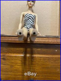 Vintage #1 Blonde Ponytail Barbie STUNNING