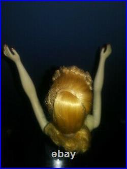 Vintage #3 Blonde Ponytail Barbie Doll Blue Eyeliner White T. M. Body