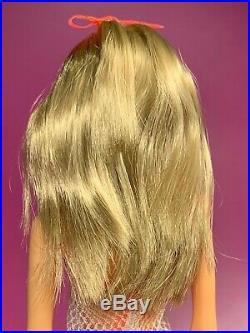 Vintage'67 TWIST'N TURN Barbie Doll Unplayed Toe Polish Orig Hair Ribbon