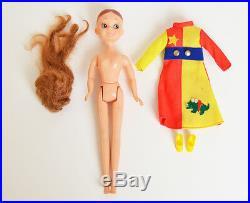 Vintage 70s Roco-Tan Doll by Nakajima-Seisakusho