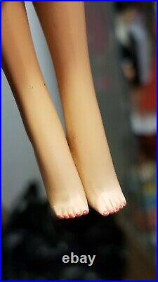Vintage American Girl Barbie Japan 1958 Mattel Cinnamon Long Hair High Color