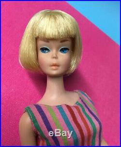 Vintage American Girl Blonde Barbie Doll MINT ORIGINAL makeup NO touch ups