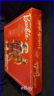 Vintage Barbie #1193 SEARS Perfectly Plaid Giftset 1971 RARE HTF NRFB MIB