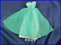 Vintage Barbie 1966 #1664 Debutante Ball Dress Stole Shoes PLUS READ