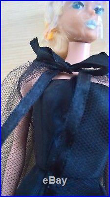 Vintage Barbie,'64' Dressed Box Black Magic Cocktail Dress, Ponytail, Japan, Mattel