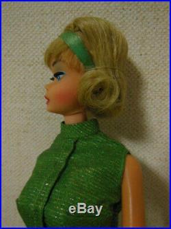 Vintage Barbie Bendable leg Side part American girl Japan FreeShipping