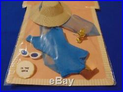 Vintage Barbie Blue In The Swim Pak Swimsuit Nrfp Nrfb
