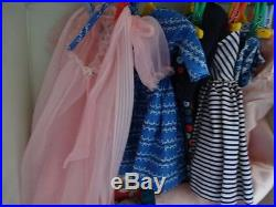 Vintage Barbie Doll, Brunette Barbie Doll, Pony Tail, Foot is stamped Japan