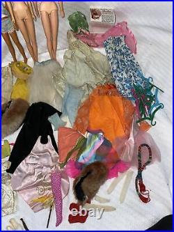 Vintage Barbie Doll Clothes Shoe Lot Japan Skipper Midge Frannie Stacy Tagged