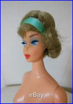 Vintage Barbie Doll Side Part Ash Blonde 1960s Japan Limited MINT86