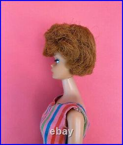 Vintage Barbie European Side Part Bubblecut American Girl Bend Leg Doll Rare Htf