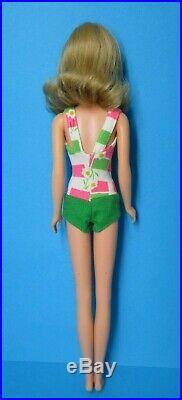 Vintage Barbie FRANCIE Doll #1130 Bend Leg Blonde Hair Swimsuit